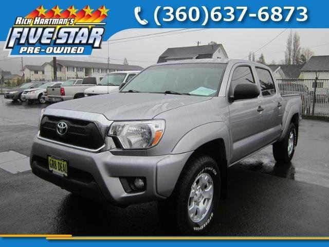 2014 Toyota Tacoma 4wd Double Cab V6 At In Aberdeen Wa
